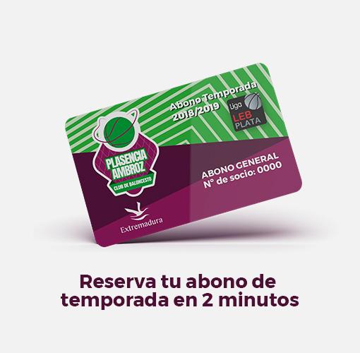 Reserva tu abono del Club de Baloncesto Plasencia-Ambroz en 2 minutos